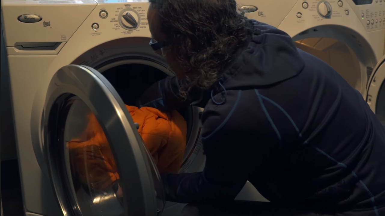 Cleaning a Sleeping Bag