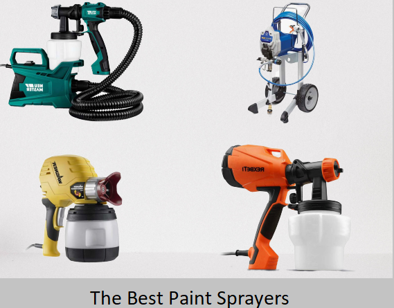 The Best Paint Sprayers